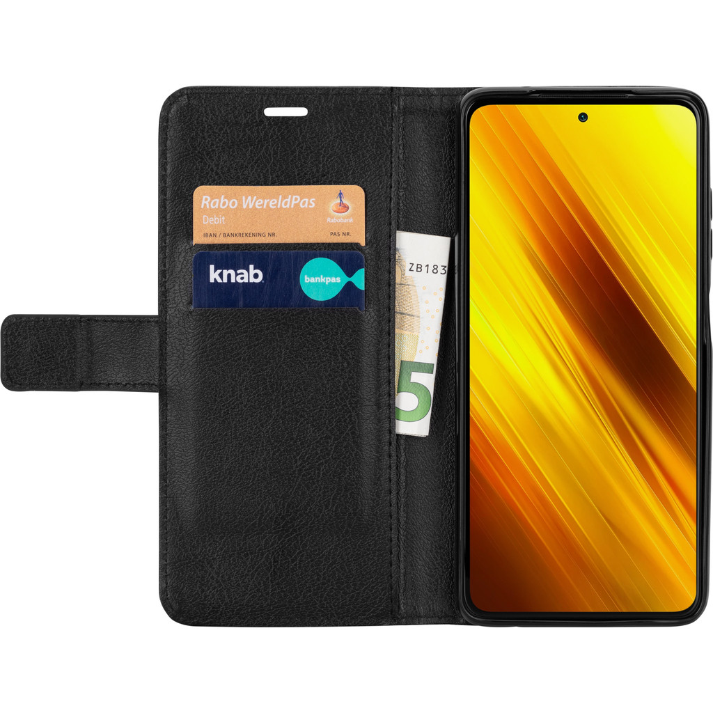 Just in Case Xiaomi Poco X3 Book Case Schwarz 9103535