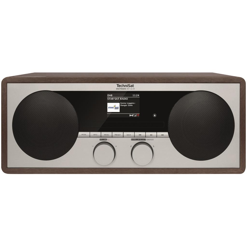Technisat Digitradio 451 CD IR Holz 0000/3938