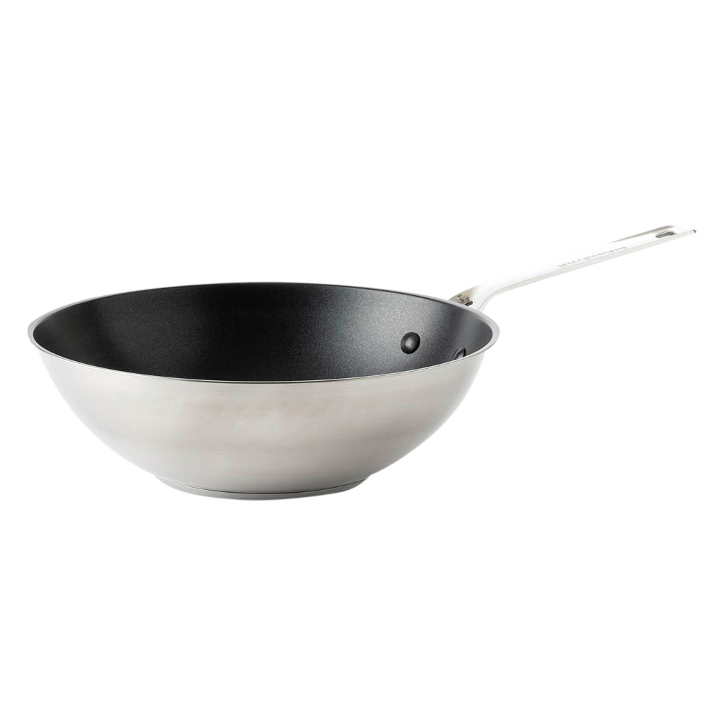 KitchenAid Stainless Steel Wok 28 cm CC003631-001