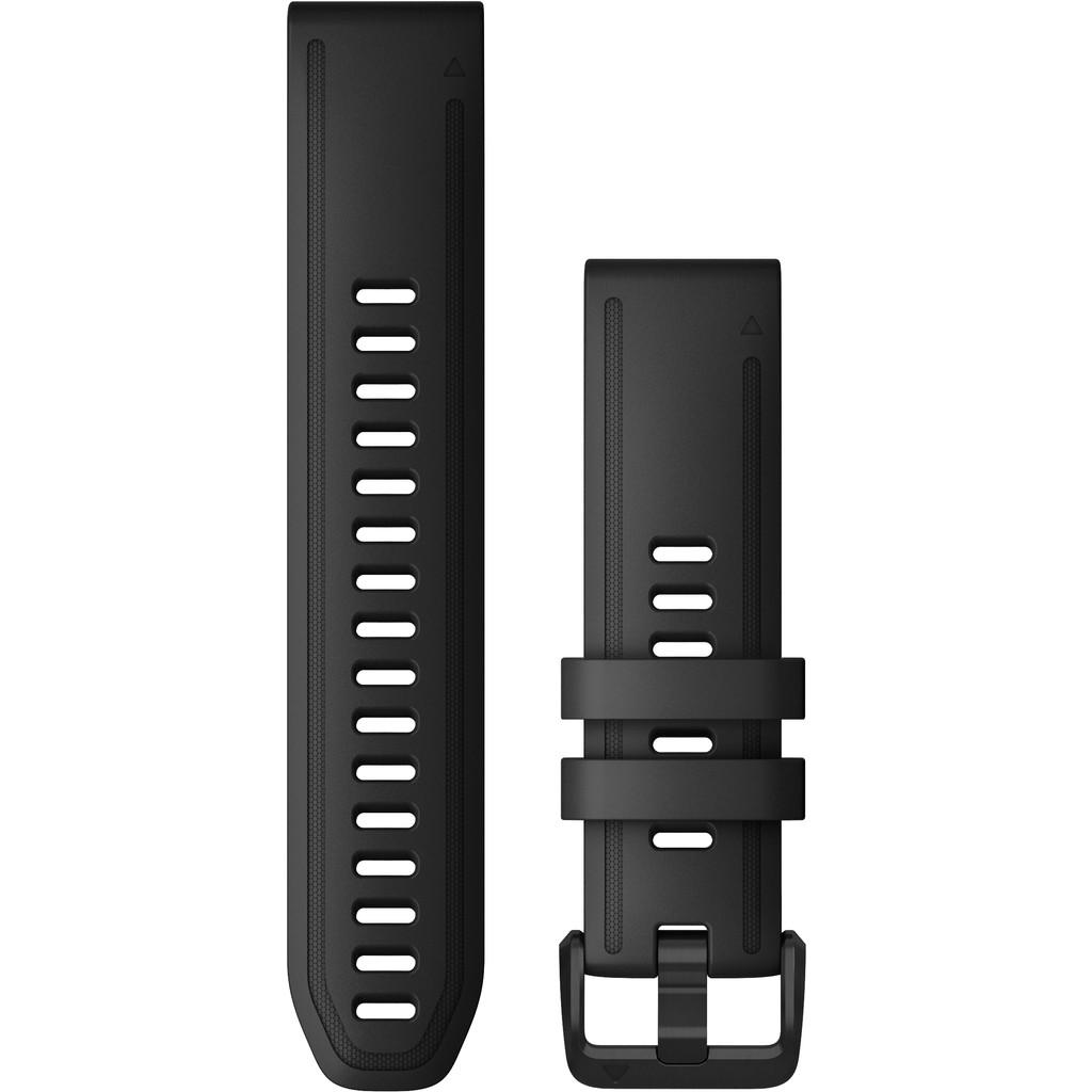 Garmin Silikonarmband Schwarz L 20 mm 010-12942-00