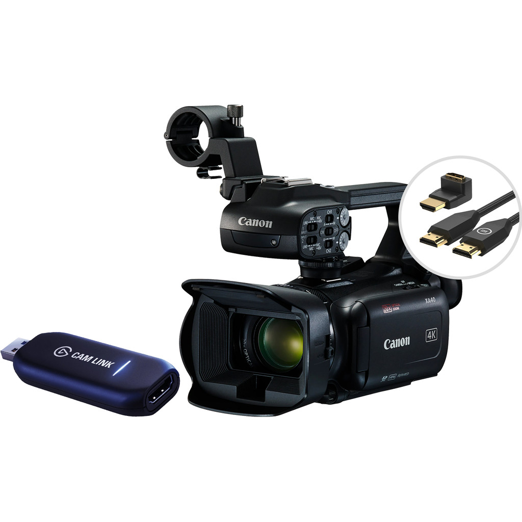 Canon XA40 Streaming Kit