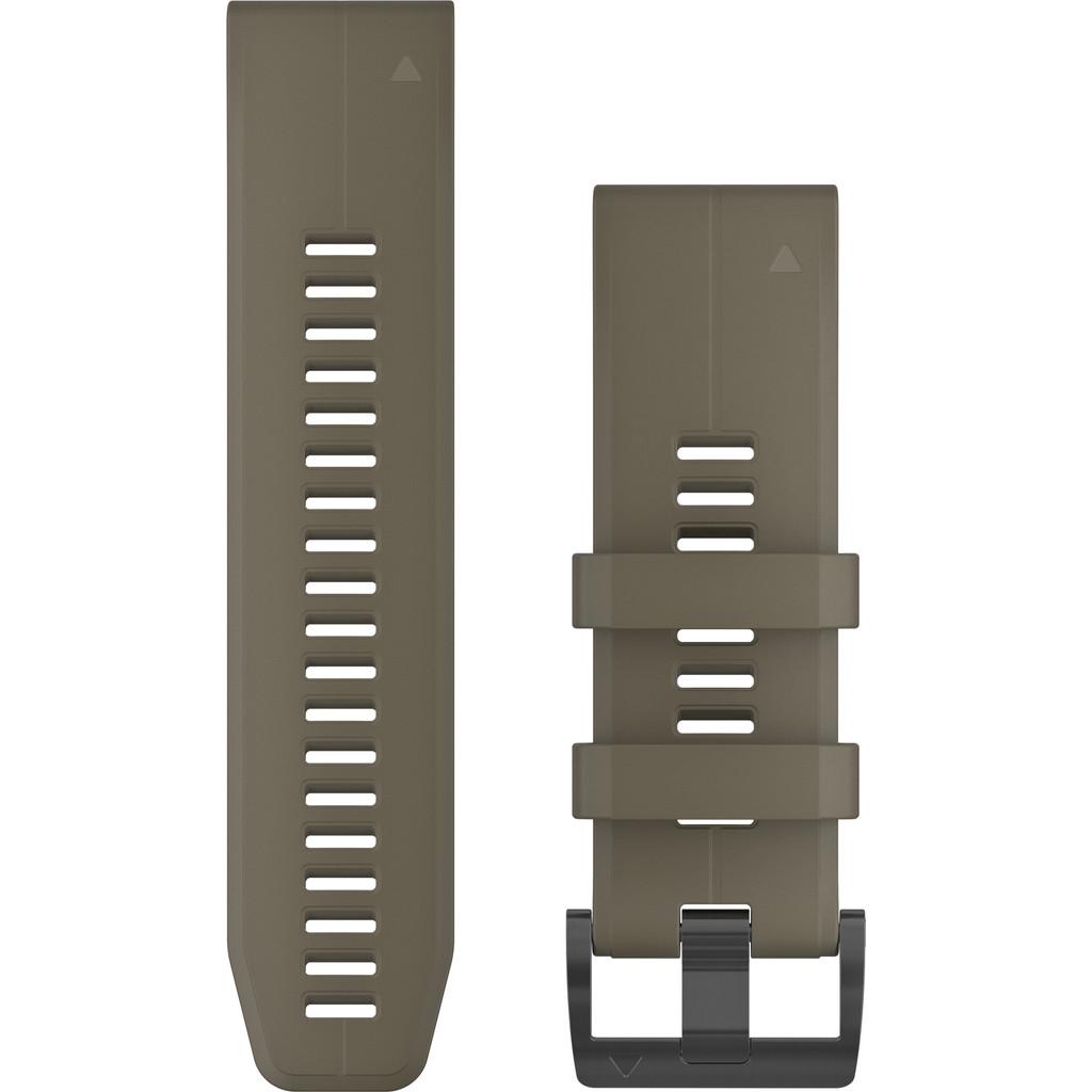 Garmin Fenix 6X Silikonband Grün 26 mm 010-12741-04