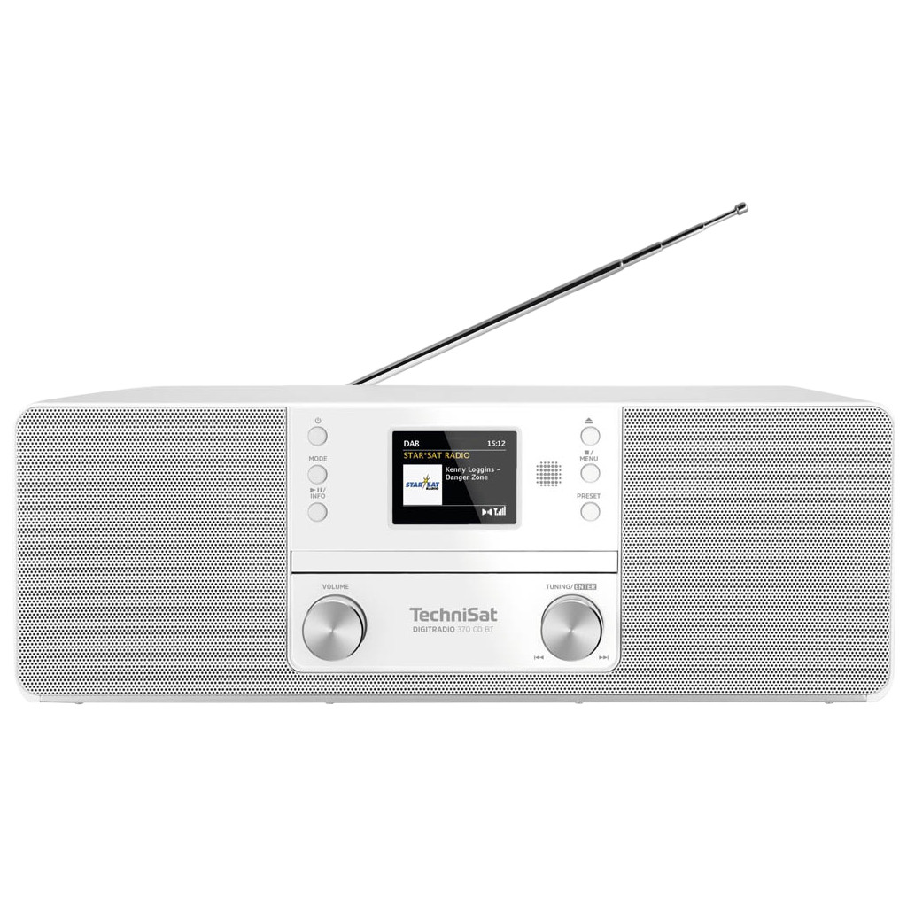 TechniSat DigitRadio 370 CD BT Weiß 0001/3948