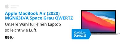 Apple MacBook Air (2020) MGN63D/A Space