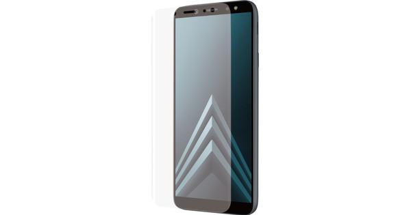 Azuri Samsung Galaxy A6 Plus (2018) Displayschutzfolie Gebogenes gehärtetes Glas