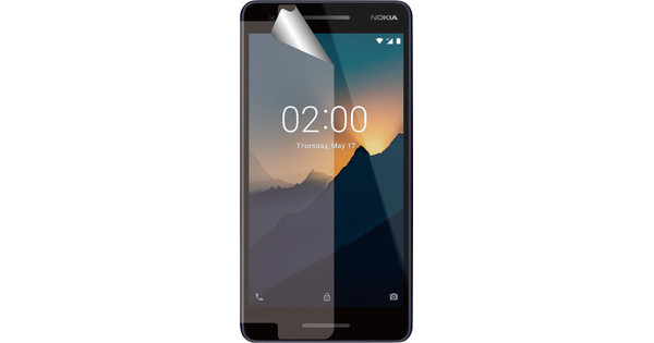 Azuri Nokia 2 (2018) Displayschutzfolie aus Kunststoff