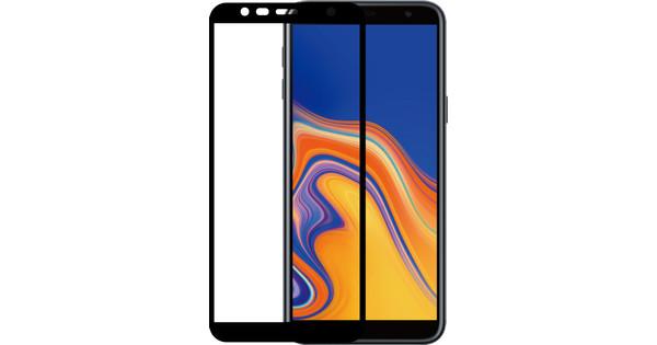 Azuri gehärtetes Glas Samsung Galaxy J4 Plus Displayschutzglas Schwarz