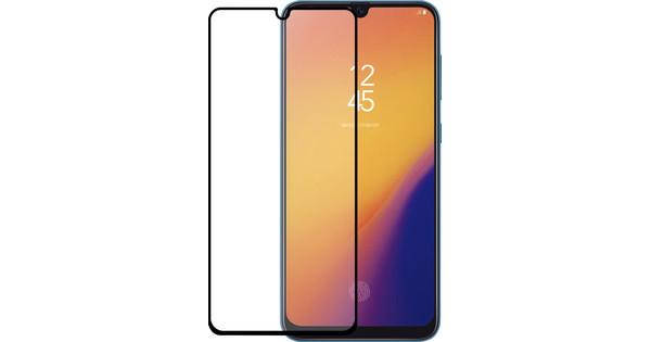 Azuri gehärtetes Glas Samsung Galaxy A70 Displayschutzglas Schwarz