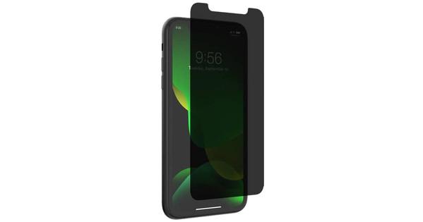 InvisibleShield Glass Elite Datenschutz iPhone Xr / 11 Displayschutzfolie