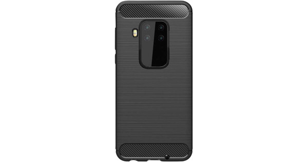 Nur für den Fall Robustes TPU Motorola One Zoom Back Cover Schwarz