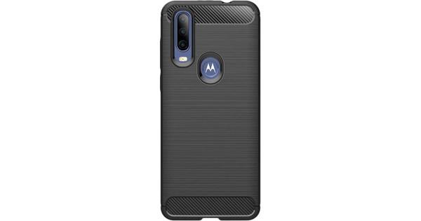 Nur für den Fall Robustes TPU Motorola One Action Back Cover Schwarz