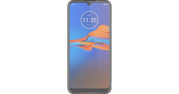 Azuri Motorola Moto E6 Plus Displayschutzglas Schwarz