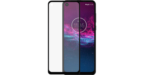 Azuri Rinox Motorola One Action Displayschutzfolie Gehärtetes Glas