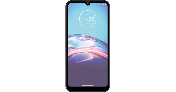 Azuri Rinox Fall freundlich Motorola Moto E6s Displayschutzglas Black Edge