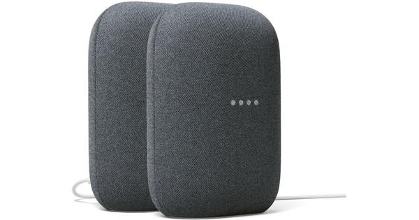Google Nest Audio Charcoal Doppelpack