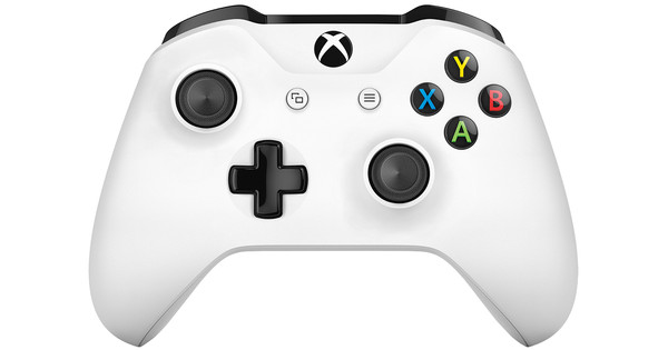 Microsoft Xbox One kabelloser Controller in Weiß