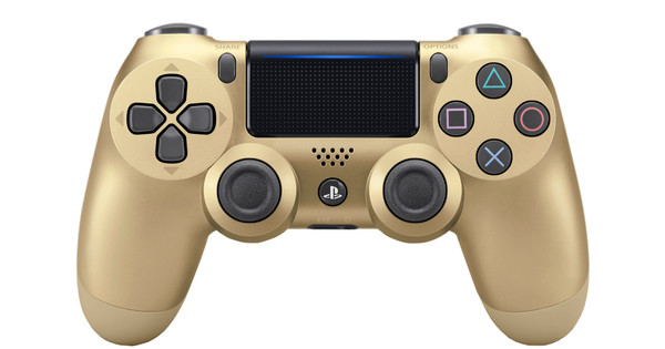 Sony DualShock 4 Controller PS4 V2, Gold
