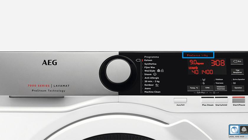 Beladungserkennung der Waschmaschine