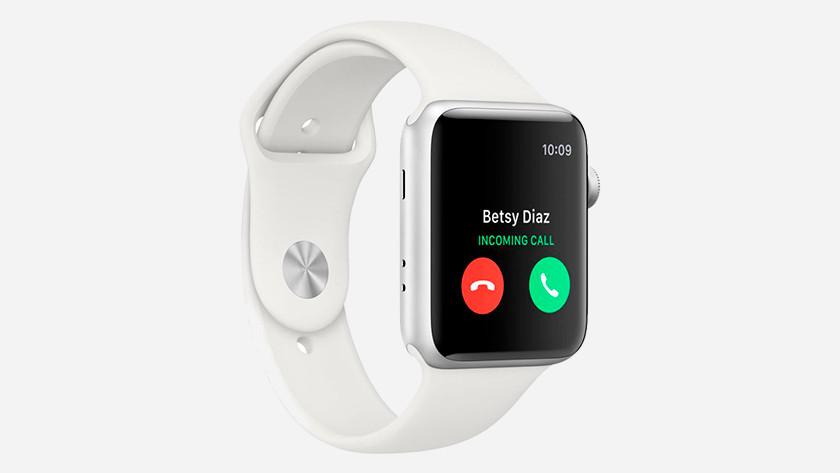 Anrufen mit Apple Watch