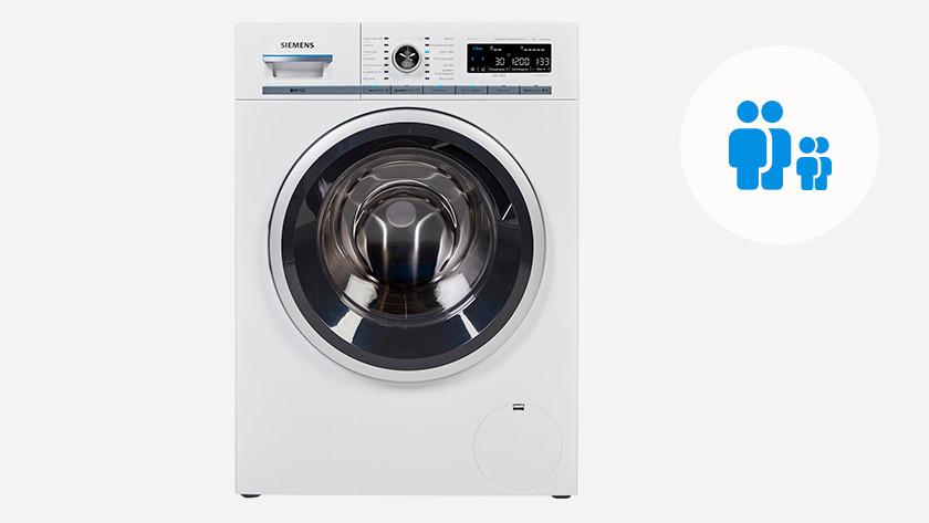 Waschmaschine für eine Familie mit 1 oder 2 Kindern