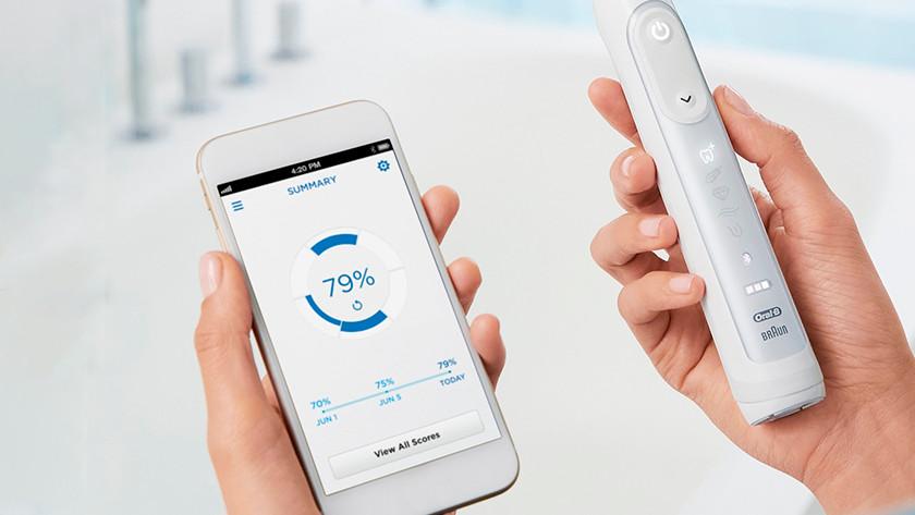 Zahnbürste mit App