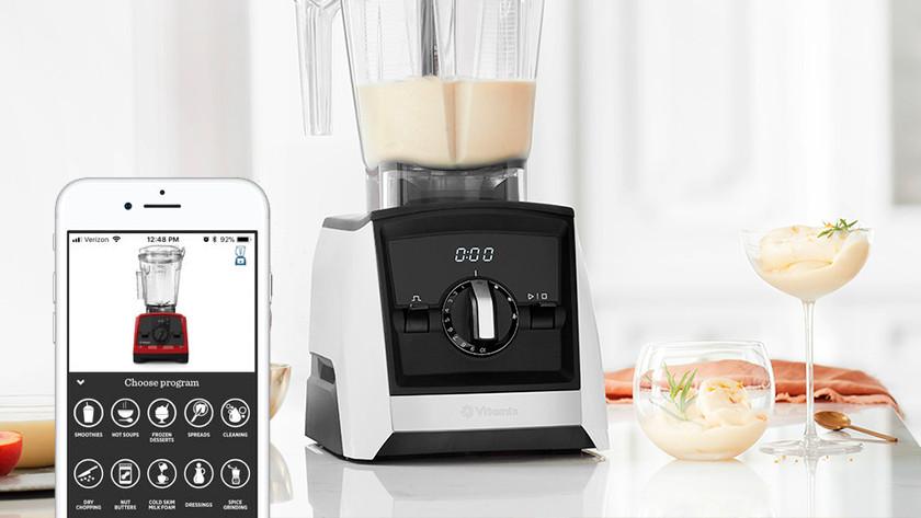 Vitamix Smart Blender mit Smartphone