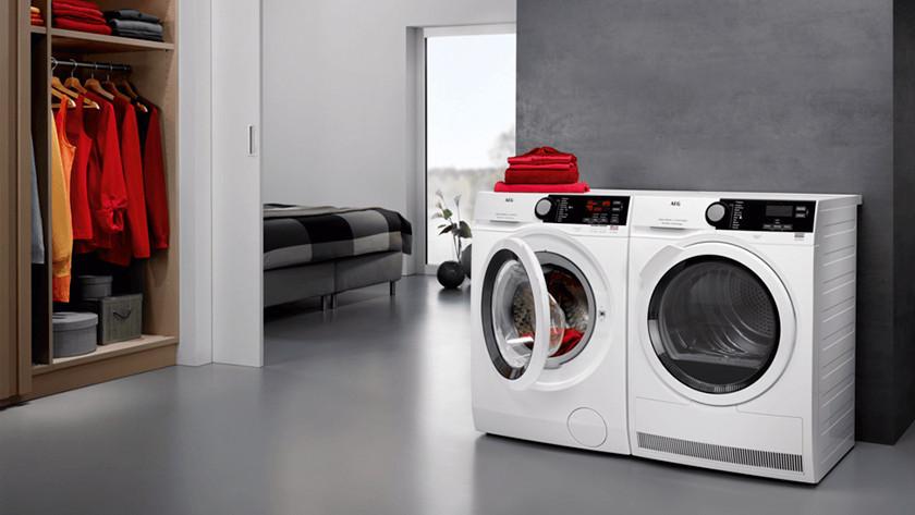 Waschmaschine mit Wäschetrockner