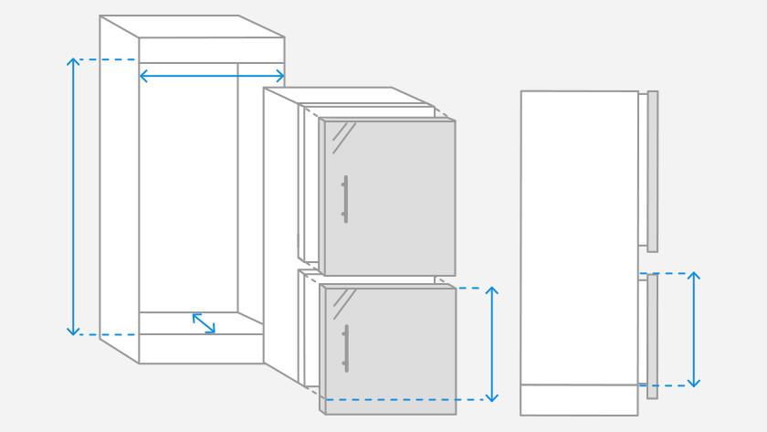 Nischenmaße Kühlschrank