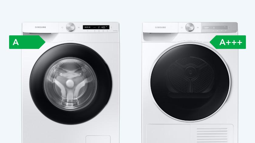 Kombination aus Waschmaschine und Trockner