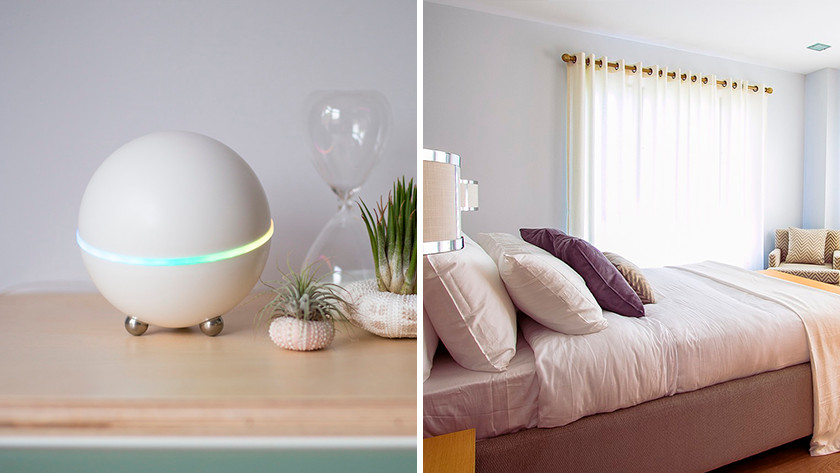 Intelligente Produkte im Schlafzimmer