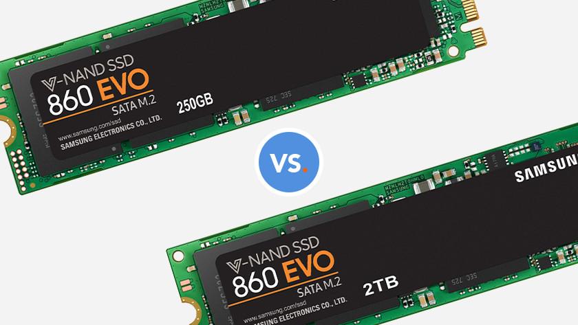 250 GB SSD oder 2 TB SSD