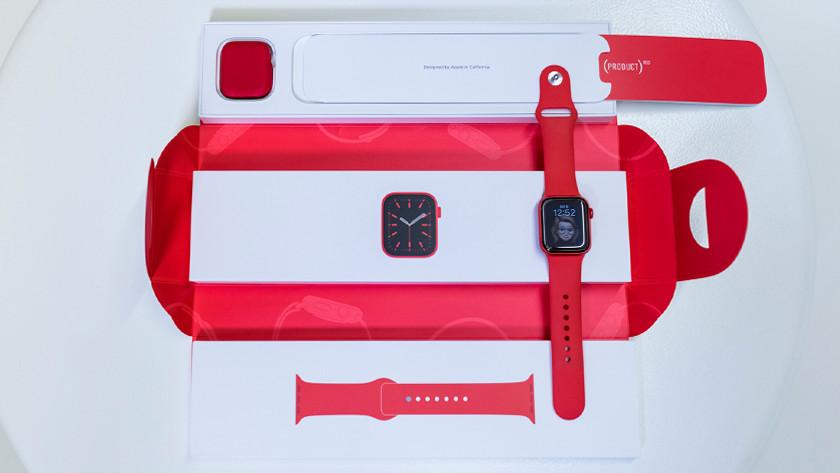 Apple Watch Series 6 ausgepackt