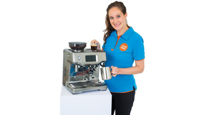 Produktexperte halbautomatische Espressomaschinen