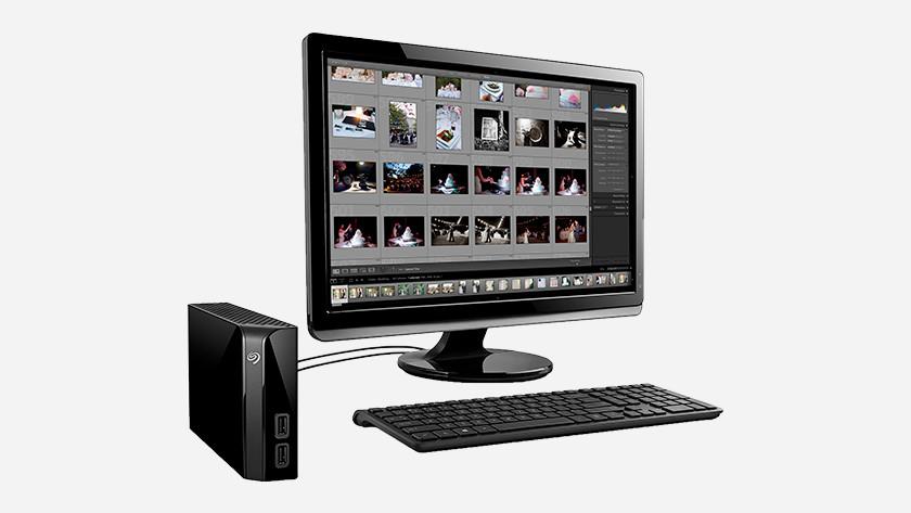 Speicherkapazität externe Festplatte Monitor Tastatur