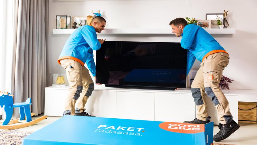 Coolblue TV Installation in Deutschland