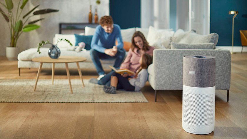 Philips Connected AC4236/10 Wohnzimmer