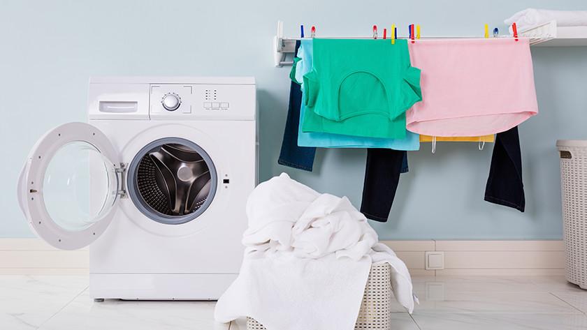Waschtrockner mit zusätzlicher Wäsche