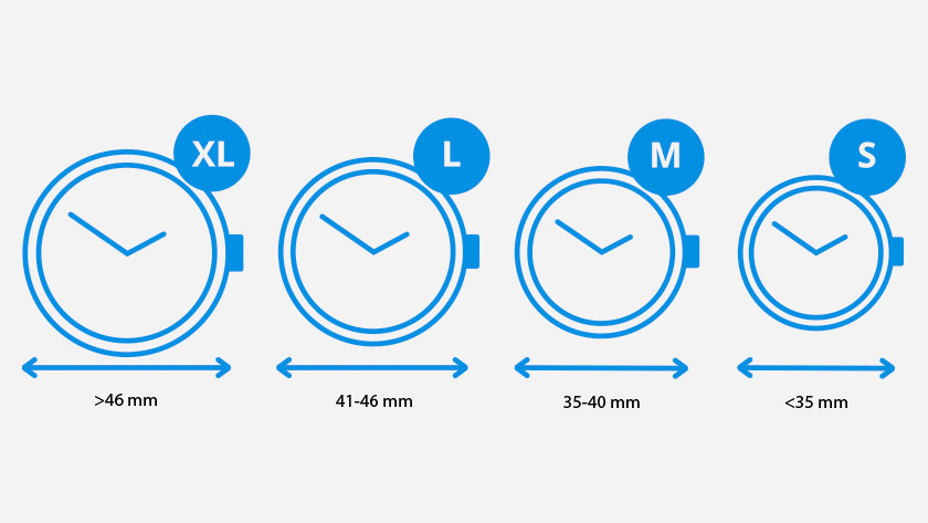 Uhrengrößen
