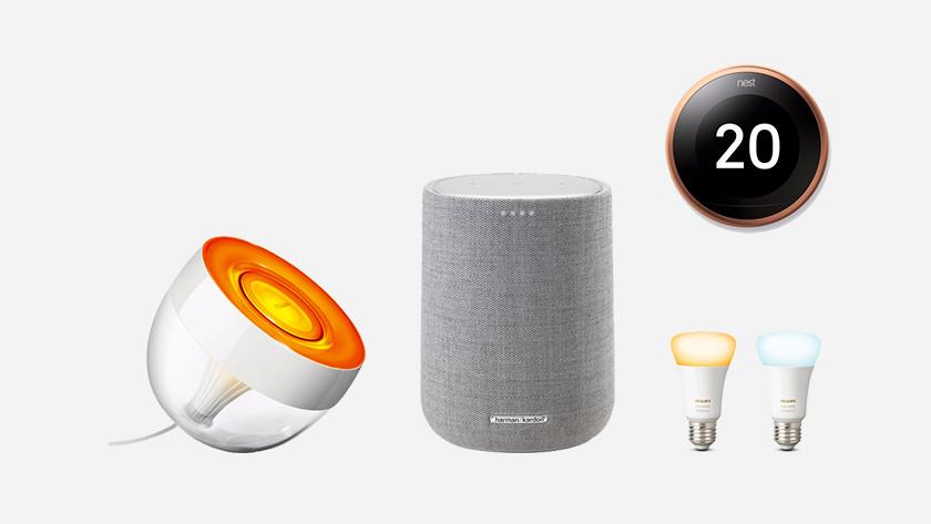 Verknüpfbare Produkte Google Assistant