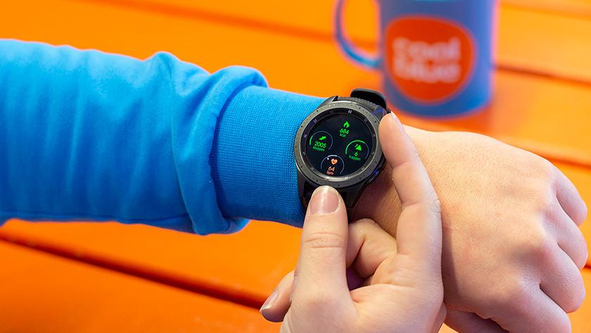 Samsung Galaxy Watch Lünette Gebrauch