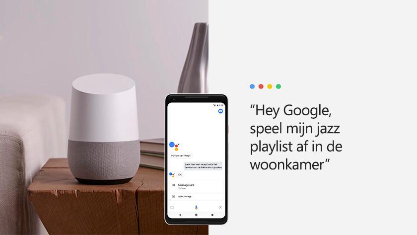 Spielen Sie Musik mit Google Assistant ab