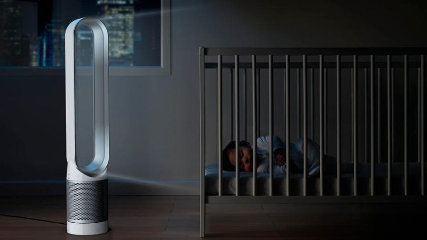 Dyson Luftreiniger fürs Schlafzimmer