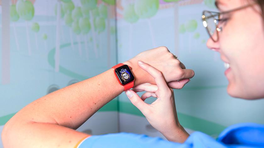 Apple Watch Series 6: klares Display