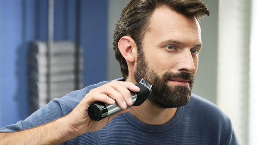 Mittellange Schnittlänge Bart