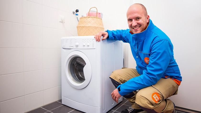 Coolblue Waschmaschinen-Auslieferer