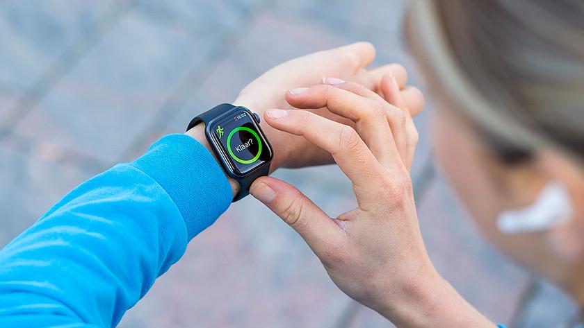 Apple Watch am Handgelenk getestet