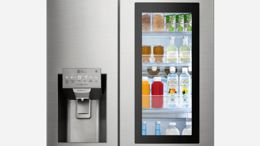 Energiesparende Kühlschranktür