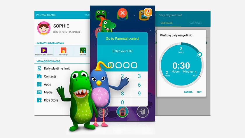 Samsung Kids Mode Kindersicherung