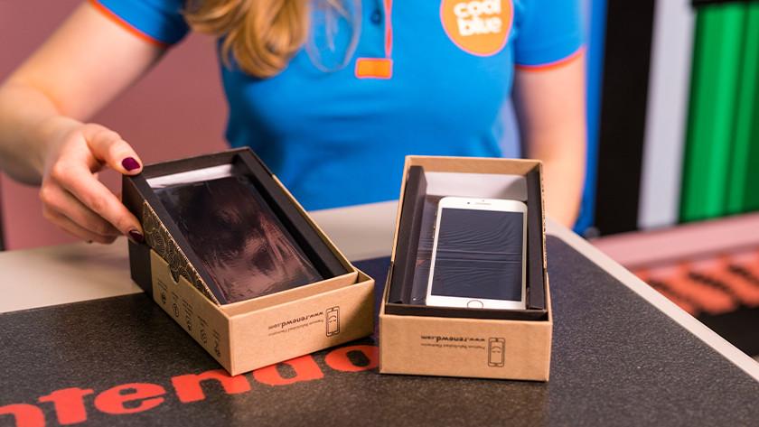 Refurbished iPhone in der Packung