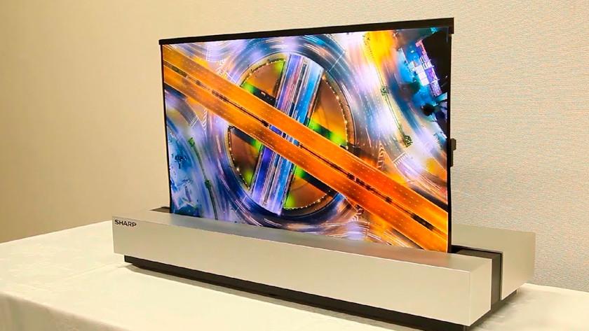 Aufrollbarer Fernseher Preis